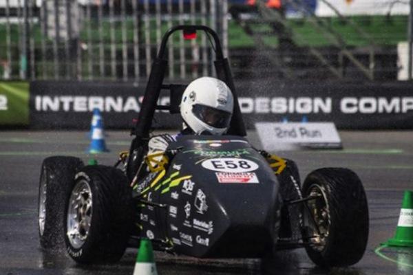 Areion 3d printed Formula car 2